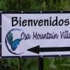 entrance to Osa Mountain Village Resort