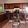kitchen of the one bedroom villa