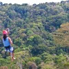 zipline canopy tour at Osa Mountain Village Resort
