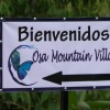 entrance to Osa Mountain Village Resort