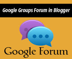 googlegroupsforum